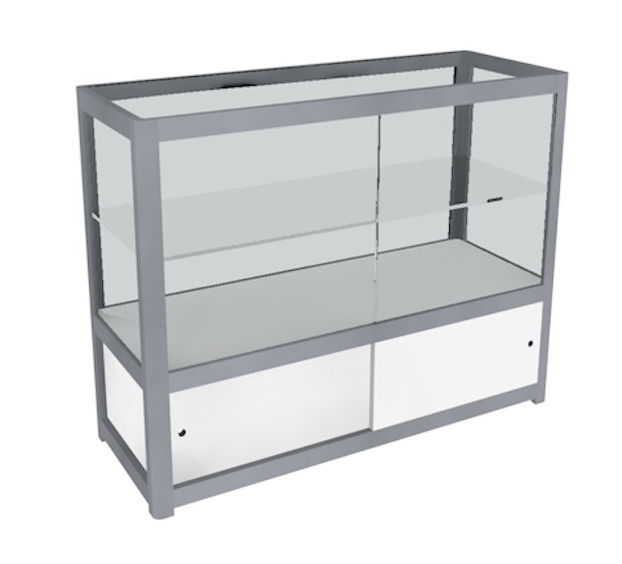 Display Case - Glass - Internal Storage
